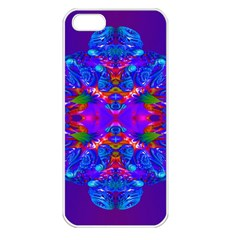 Abstract 5 Apple iPhone 5 Seamless Case (White)