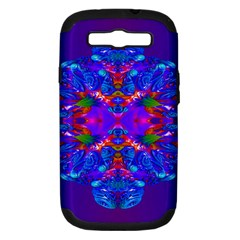 Abstract 5 Samsung Galaxy S III Hardshell Case (PC+Silicone)
