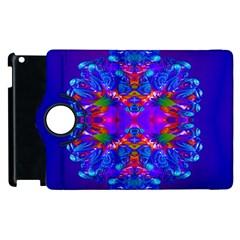 Abstract 5 Apple iPad 3/4 Flip 360 Case