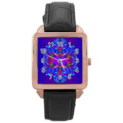 Abstract 5 Rose Gold Watches