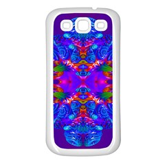 Abstract 5 Samsung Galaxy S3 Back Case (white)