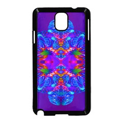 Abstract 5 Samsung Galaxy Note 3 Neo Hardshell Case (Black)