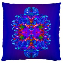Abstract 5 Standard Flano Cushion Cases (one Side)