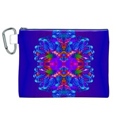 Abstract 5 Canvas Cosmetic Bag (XL)