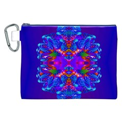 Abstract 5 Canvas Cosmetic Bag (xxl)