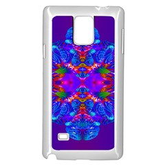 Abstract 5 Samsung Galaxy Note 4 Case (White)