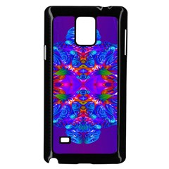 Abstract 5 Samsung Galaxy Note 4 Case (Black)