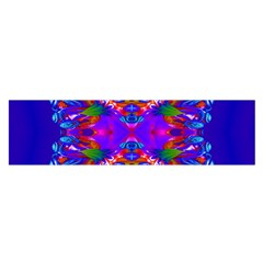 Abstract 5 Satin Scarf (Oblong)