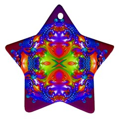 Abstract 6 Ornament (Star)