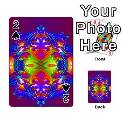 Abstract 6 Playing Cards 54 Designs