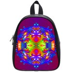Abstract 6 School Bags (Small)  Front