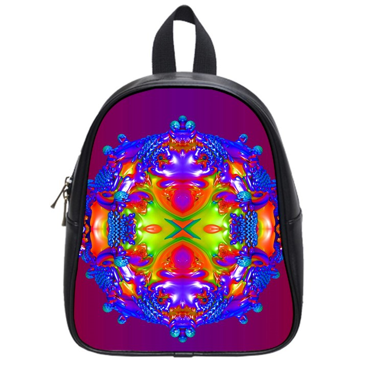 Abstract 6 School Bags (Small)