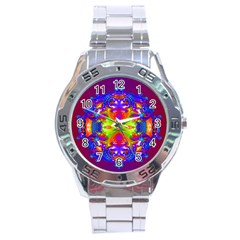 Abstract 6 Stainless Steel Men s Watch