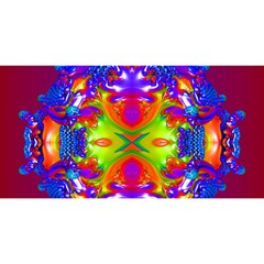 Abstract 6 YOU ARE INVITED 3D Greeting Card (8x4)