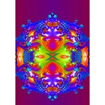 Abstract 6 Clover 3D Greeting Card (7x5)  Inside