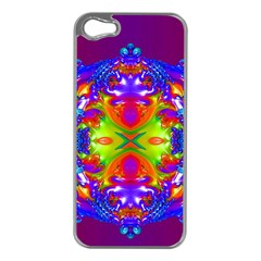 Abstract 6 Apple Iphone 5 Case (silver)