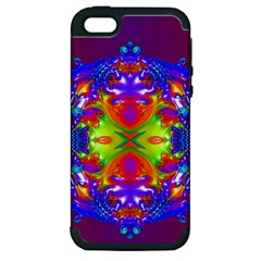 Abstract 6 Apple iPhone 5 Hardshell Case (PC+Silicone)