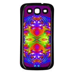Abstract 6 Samsung Galaxy S3 Back Case (Black)