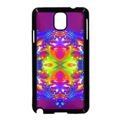 Abstract 6 Samsung Galaxy Note 3 Neo Hardshell Case (Black)