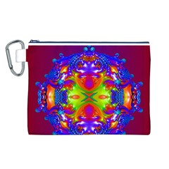 Abstract 6 Canvas Cosmetic Bag (L)