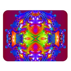 Abstract 6 Double Sided Flano Blanket (large)