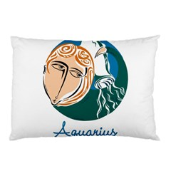 Aquarius Star Sign Pillow Cases
