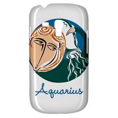 Aquarius Star Sign Samsung Galaxy S3 MINI I8190 Hardshell Case
