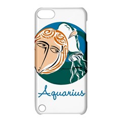 Aquarius Star Sign Apple iPod Touch 5 Hardshell Case with Stand