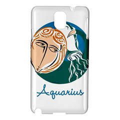 Aquarius Star Sign Samsung Galaxy Note 3 N9005 Hardshell Case