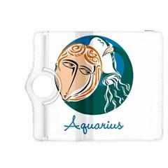 Aquarius Star Sign Kindle Fire HDX 8.9  Flip 360 Case
