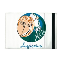 Aquarius Star Sign iPad Mini 2 Flip Cases