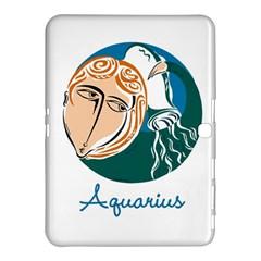 Aquarius Star Sign Samsung Galaxy Tab 4 (10.1 ) Hardshell Case