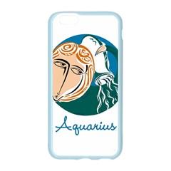 Aquarius Star Sign Apple Seamless iPhone 6 Case (Color)