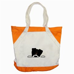 Bern Mt Dog Peeping Dog Accent Tote Bag
