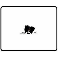 Bern Mt Dog Peeping Dog Fleece Blanket (Medium)
