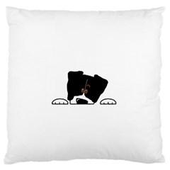 Bern Mt Dog Peeping Dog Large Cushion Cases (One Side)