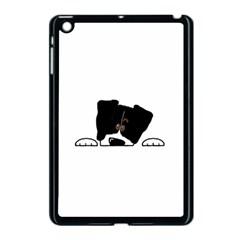 Bern Mt Dog Peeping Dog Apple iPad Mini Case (Black)