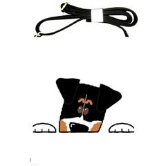 Peeping Bernese Mountain Dog Shoulder Sling Bags