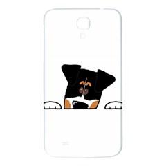 Peeping Bernese Mountain Dog Samsung Galaxy Mega I9200 Hardshell Back Case