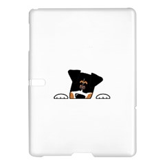 Peeping Bernese Mountain Dog Samsung Galaxy Tab S (10.5 ) Hardshell Case
