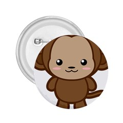 Kawaii Monkey 2.25  Buttons