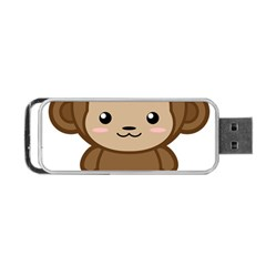 Kawaii Monkey Portable USB Flash (One Side)
