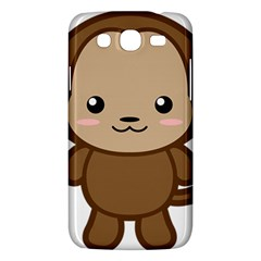Kawaii Monkey Samsung Galaxy Mega 5.8 I9152 Hardshell Case
