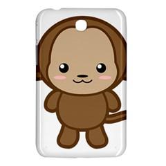 Kawaii Monkey Samsung Galaxy Tab 3 (7 ) P3200 Hardshell Case