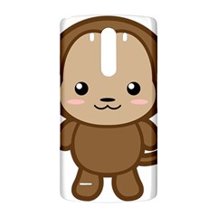 Kawaii Monkey LG G3 Back Case