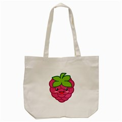 Raspberry Tote Bag (Cream)