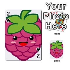 Raspberry Playing Cards 54 Designs