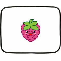 Raspberry Fleece Blanket (Mini)