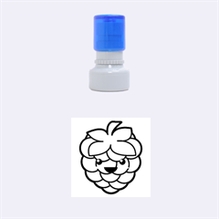 Raspberry Rubber Round Stamps (Small)