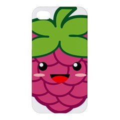Raspberry Apple iPhone 4/4S Premium Hardshell Case